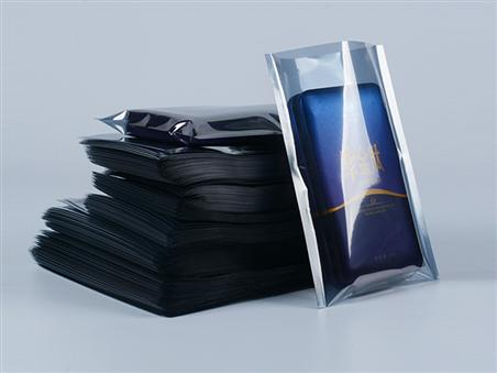 九次方硬盘芯片主板袋 LED绝缘袋电子器件袋 防静电屏蔽自封袋灰色静电袋